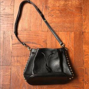 Rebecca Minkoff black bucket bag